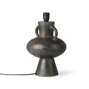 Charcoal Stoneware Lamp | Design Vintage