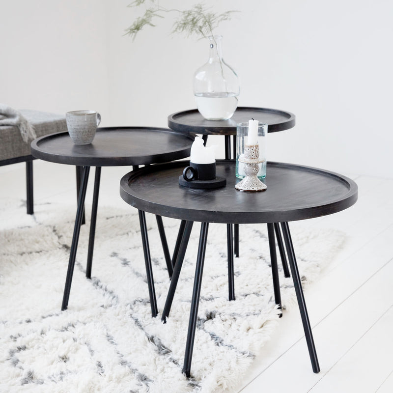 Juco Black Side Tables