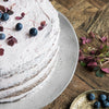 Handcrafted Rustic Cake Plate