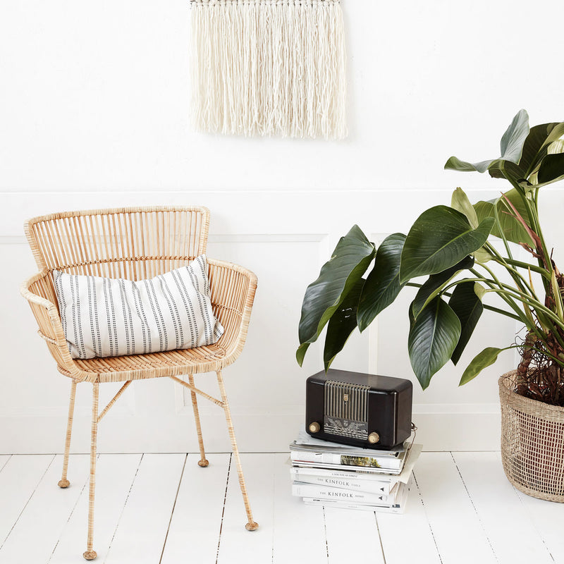 Natural Rattan Dining Chair | Design Vintage