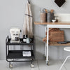 Steel Drinks Trolley | Design Vintage
