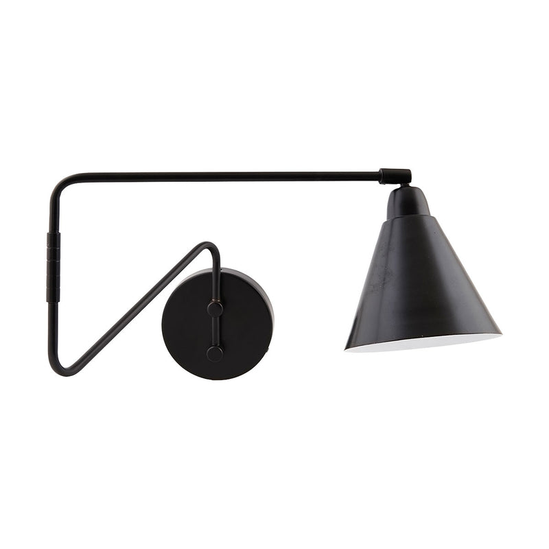 Black Adjustable Game Wall Light