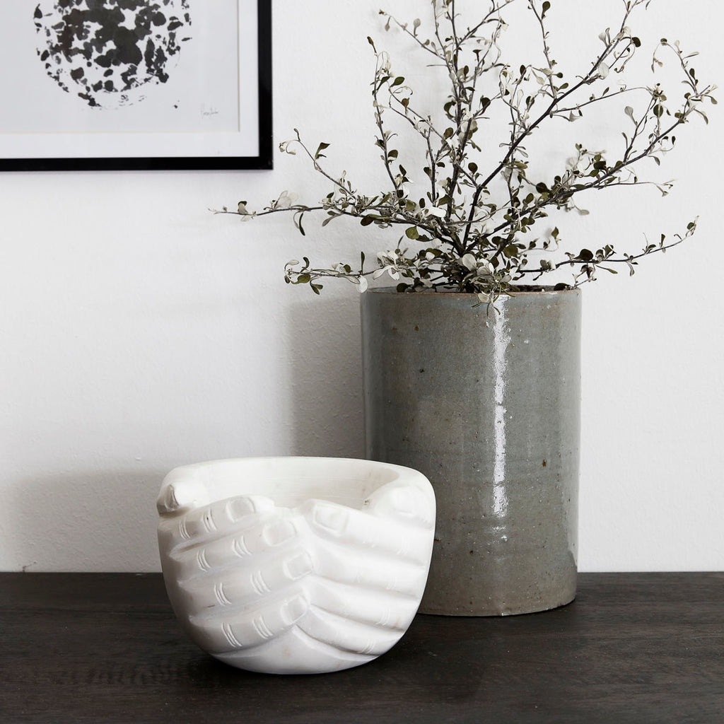 Hands Marble Bowl