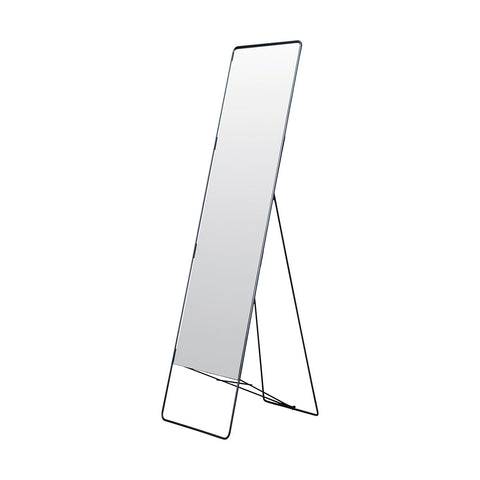 Floor Standing Iron Mirror