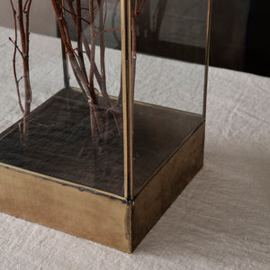 Antique Brass Display Box | Design Vintage