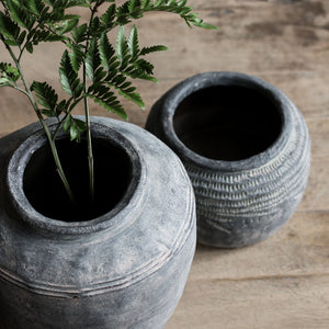 Rustic Concrete Vase - Medium