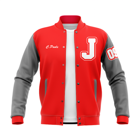 Bush Keller Sporting Goods - Letter Jacket Mockup - Poole