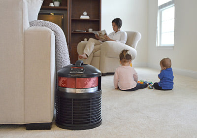 Will an air cleaner or air purifier help protect me and my family from COVID-19 in my home?
