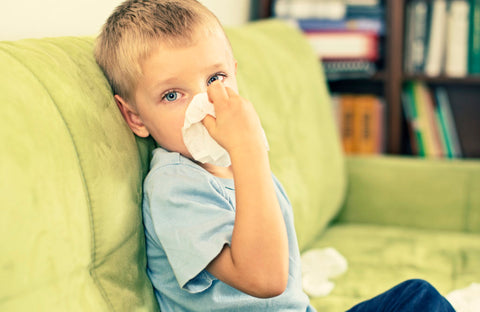 air purifier sick child germs thanksgiving holidays