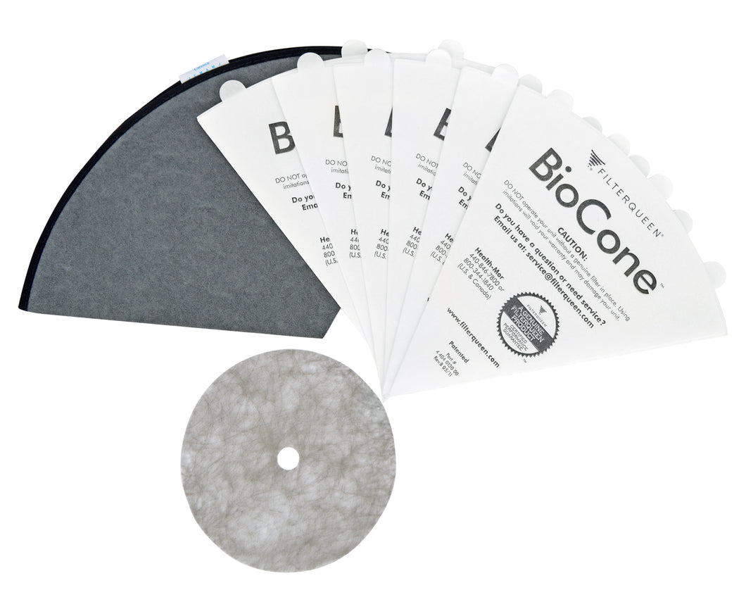 filterqueen majestic surface cleaner vacuum filter queen replacement filter cones biocone medipure 6 month bundle 4404013100
