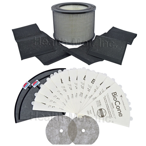 filterqueen majestic defender system filter queen replacement filter bundle 12 month kit kitsys0001