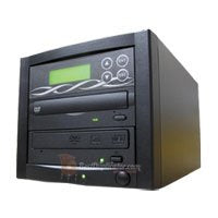 Bestduplicator M-Series (High Performance) - 1 Target 24X SATA Blu-Ray DVD CD Duplicator (Standalone Audio Video Copy Tower, Duplication Device) - 1 to 1 Blu-Ray/DVD/CD Duplicator