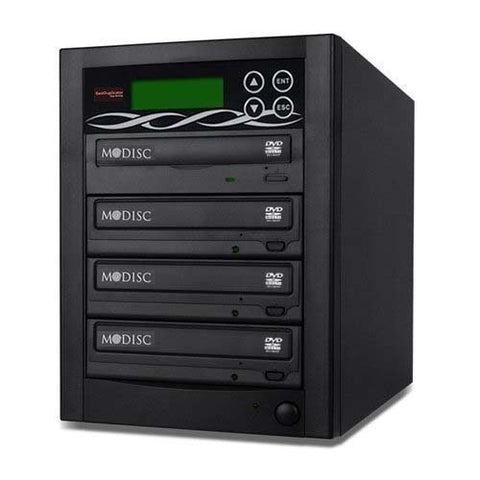 Bestduplicator BD-SMG-3T 3 Target 24x SATA DVD Duplicator with Built-In M-Disc Support Burner (1 to 3)