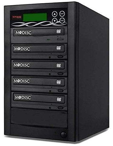 Bestduplicator BD-SMG-4T 4 Target 24x SATA DVD Duplicator with Built-In M-Disc Support Burner (1 to 4)