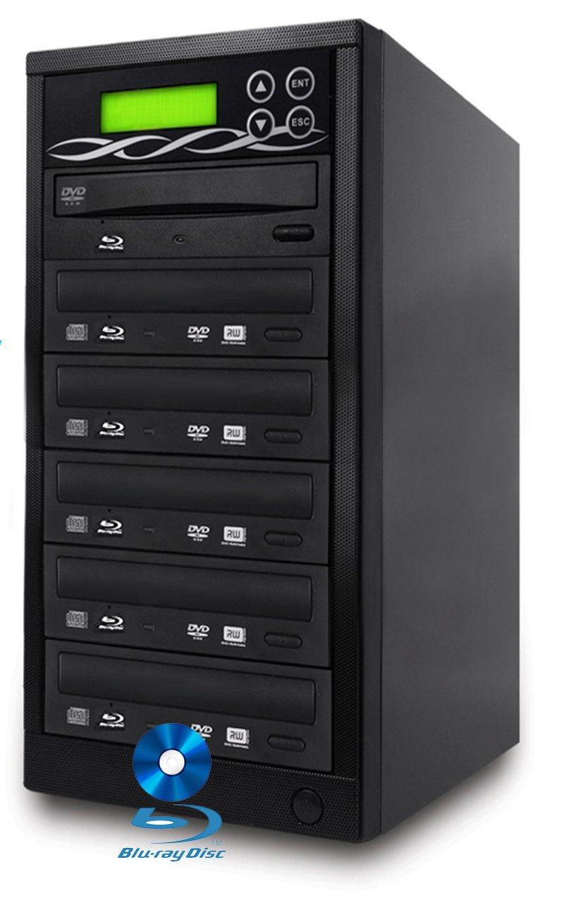 BestDuplicator 1 to 5 Blu-ray BD BDXL M-Disc CD DVD Duplicator