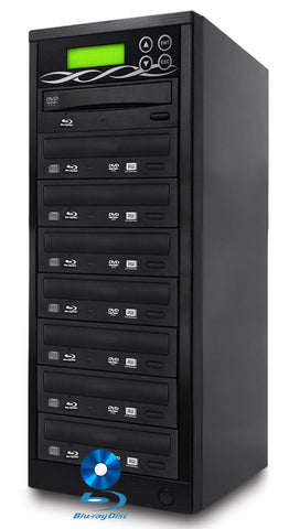BestDuplicator 1 to 7 Blu-ray BD BDXL M-Disc CD DVD Duplicator