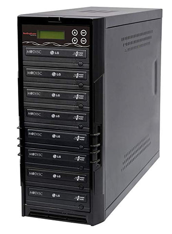 Bestduplicator BD-LG-7T 7 Target 24x SATA DVD Duplicator with Built-In LG Burner (1 to 7)