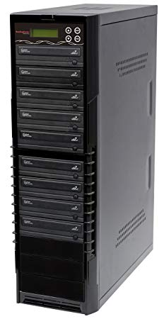 Bestduplicator BD-SMG-8T 8 Target 24x SATA DVD Duplicator with Built-In Samsung Burner (1 to 8)
