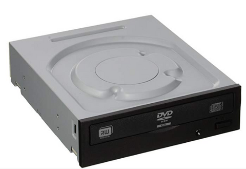 Lite-On 24X SATA Internal DVD+/-RW Drive Optical Drive IHAS124-14