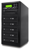 SATA DVD Duplicator - 5 Target Standalone CD / DVD Duplicator with SATA DVDRW