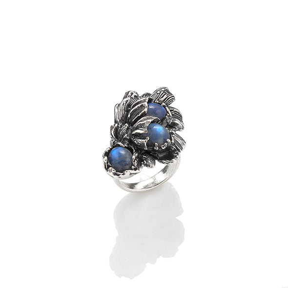 Anello Moon Flower Grande