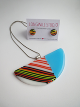 Load image into Gallery viewer, Colour Joy Stripes Necklace