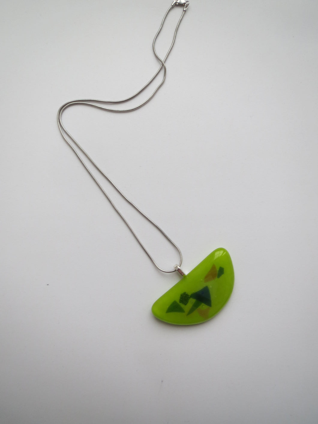 Green Luna Necklace