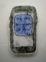 Load image into Gallery viewer, Bring Home Milk Please #2 - Modern Love Letter in Glass