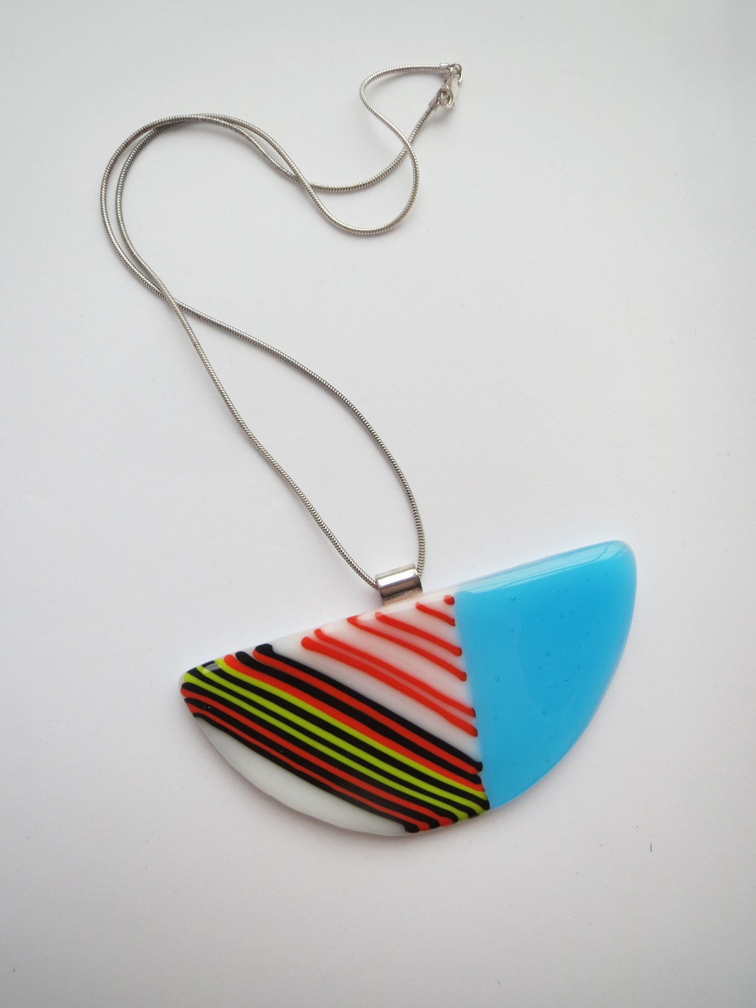 Colour Joy Stripes Necklace