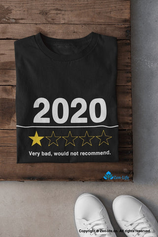 Image of 2020 Very Bad Would Not Recommend Shirt Classic T-Shirt