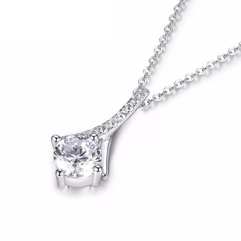 Image of Elegant Pendant Necklace