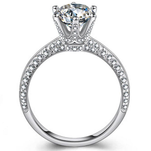 Premium 2.0ct Lab Diamond Ring