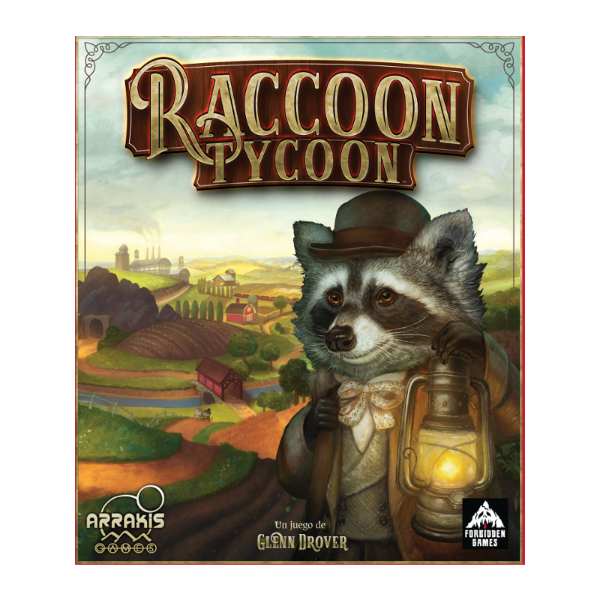 Raccoon Tyccoon - cafe2d6