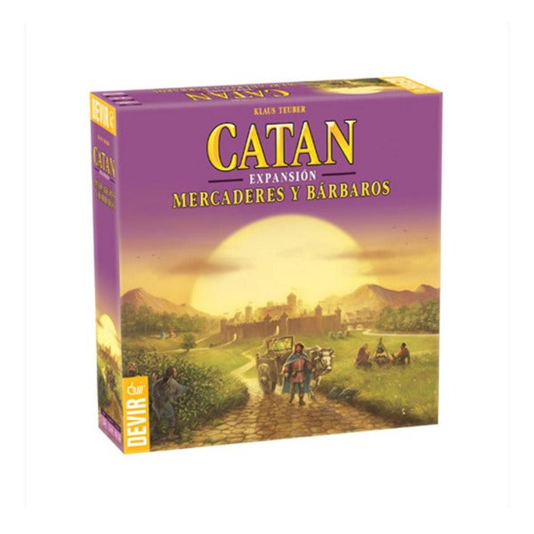 Catan Mercaderes y Bárbaros - cafe2d6