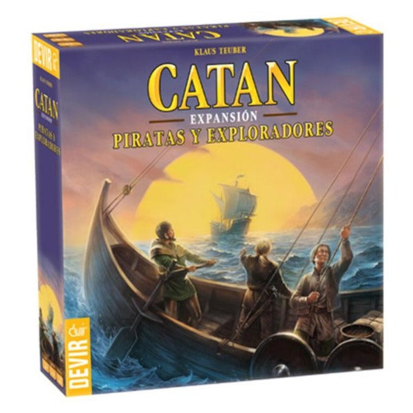 Catan Piratas y Exploradores - cafe2d6