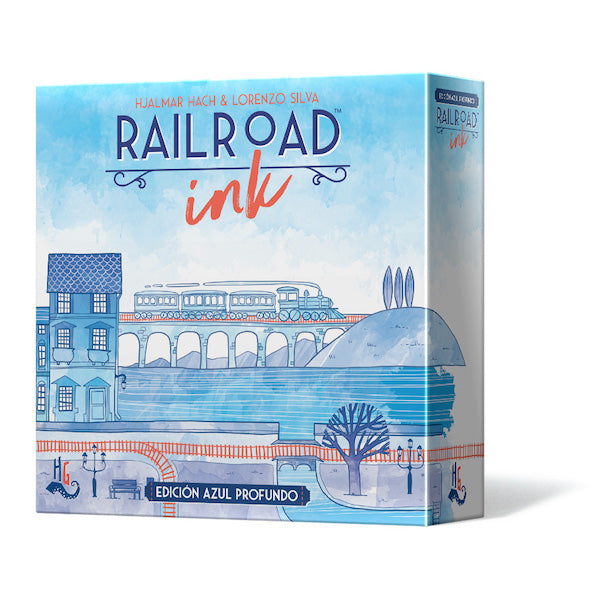 Railroad Ink (Azul Profundo) - cafe2d6