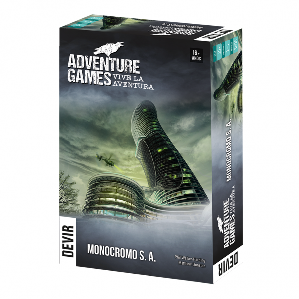 Adventure Games: Monocromo SA - cafe2d6