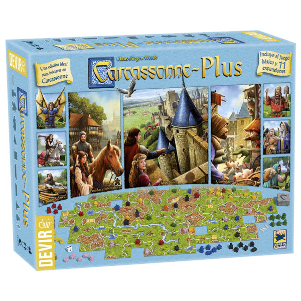 Carcassonne Plus 2017 - cafe2d6