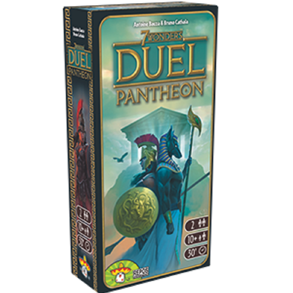 7 Wonders Duel Pantheon - cafe2d6
