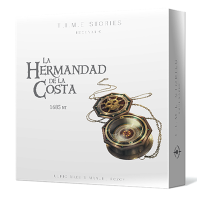 TIME Stories Expansion 7 - La Hermandad de la Costa - cafe2d6