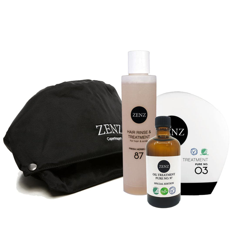 Detox Deluxe: Treatment Pure no. 03 + Hair Rinse & Treatment no. 87 + Oil Treatment + HairSpa