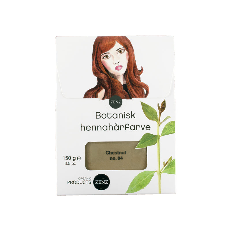 Lagersalg - Henna Hair Colour Chestnut no. 84 (150 g)