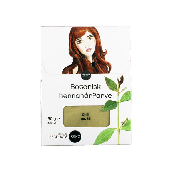 Botanical Henna Hair Colour Chili no. 83