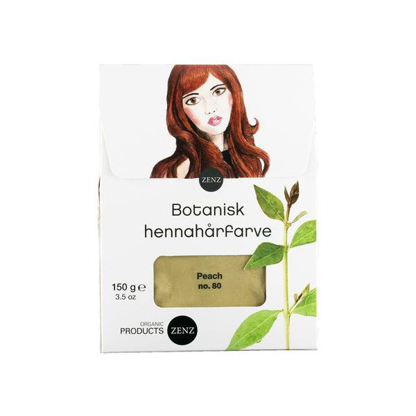 Botanical Henna Hair Colour Peach no. 80