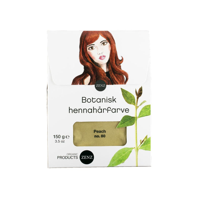 Lagersalg - Henna Hair Colour Peach no. 80 (150 g)