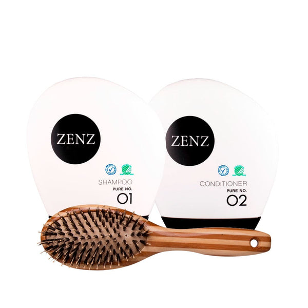 Valentine's Day Treat: Hair Brush Paddle Combo + Shampoo & Conditioner