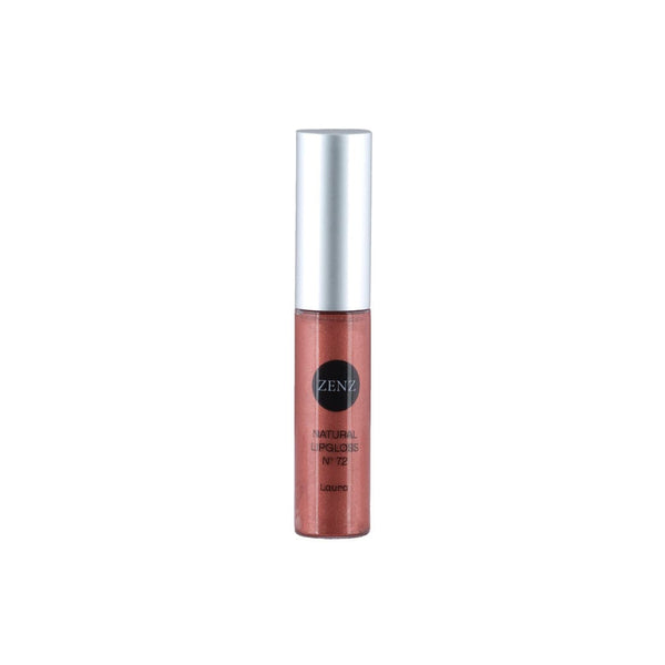 Natural Lipgloss Laura no. 72, nougatbrun