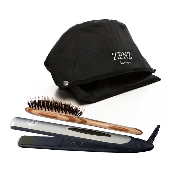 Tools Pakke no. 01: HairSpa + Glattejern + Hair Brush Paddle Combo