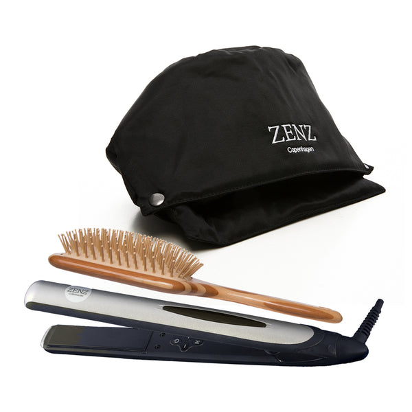 Tools Pakke no. 02: HairSpa+ Glattejern + Hair Brush Paddle Large