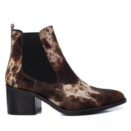 Carmela Animal Print Ankle Boot